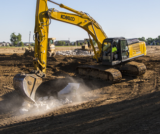 Welcome to KOBELCO USA | Excavators Built For Power & Efficiency