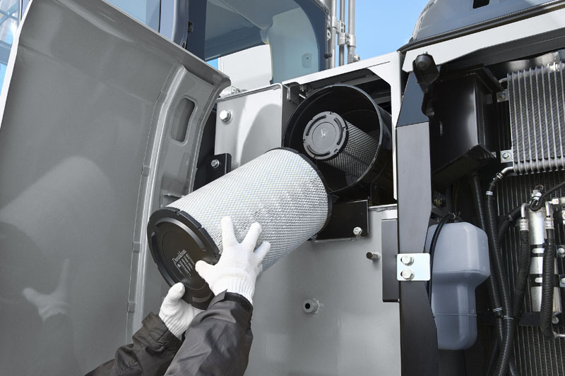 Image of Specialty Excavator SK210HLC-10 Hybrid Dual Air Filters for North America model