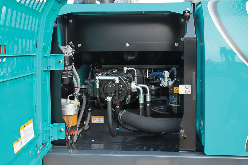 Image of Conventional Excavator SK260LC-10 Engine for Latin America model
