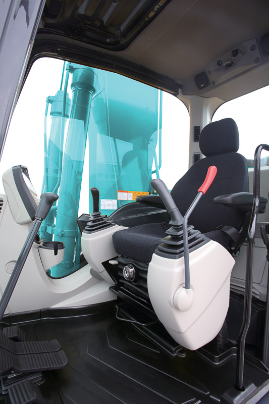 Image of Conventional Excavator SK350LC-10 Cab for Latin America model