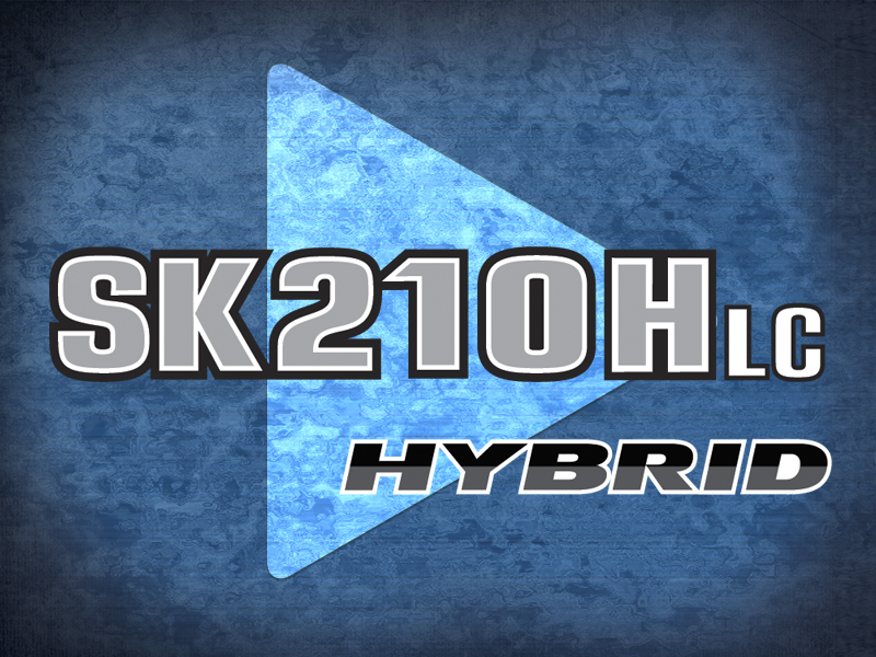 Video of SK210HLC-10 Hybrid