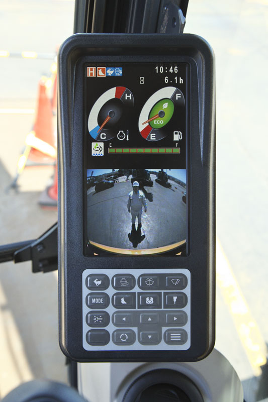 Image of  SR Series SK230SRLC-5 Rear Camera View of North America model