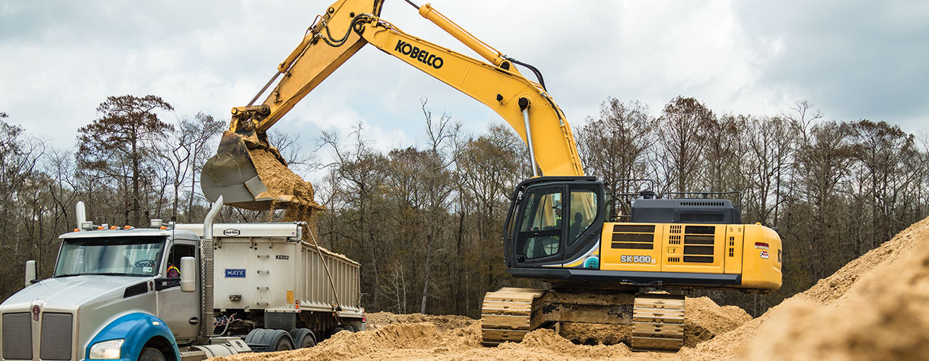 Welcome to KOBELCO USA | Excavators Built For Power