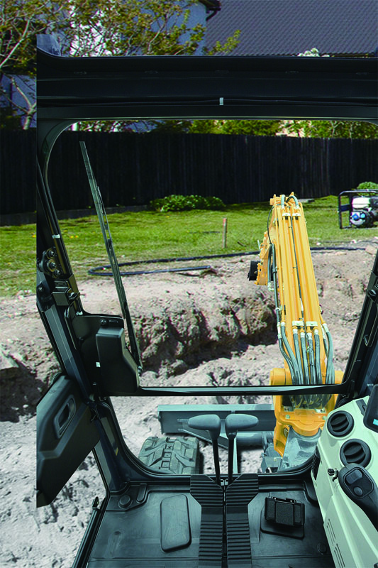 Image of Mini Excavator SK55SRX-6E Visibility of North America model