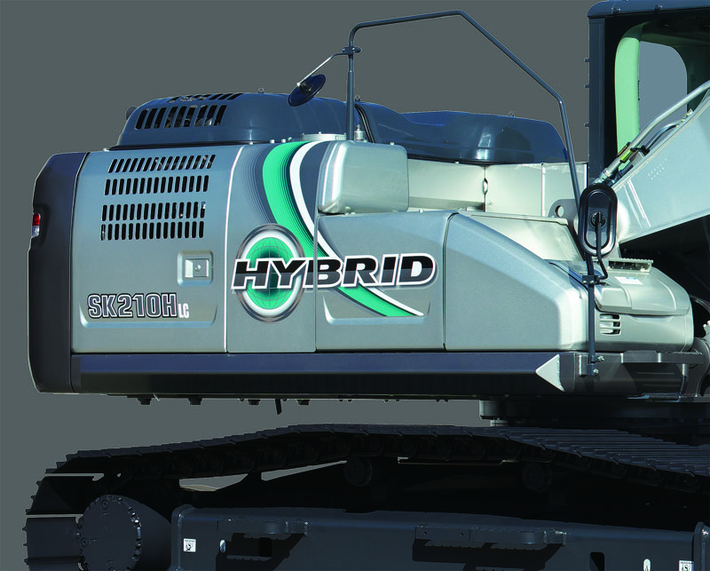 Image of Specialty Excavator SK210HLC-10 Hybrid Side Guard for North America model