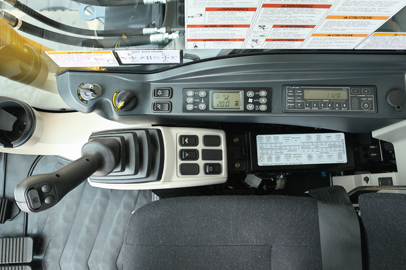 Image of Conventional Excavator SK850LC-10 Controls of North America model
