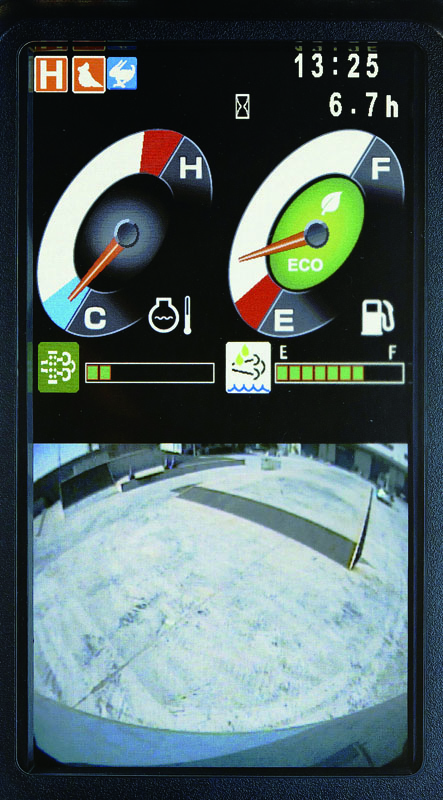 Image of Conventional Excavator Rear Camera_2 for Latin America model