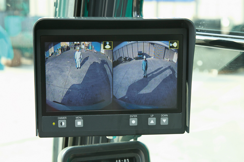 Image of Conventional Excavator SK850LC-10 Rear Camera of North America model