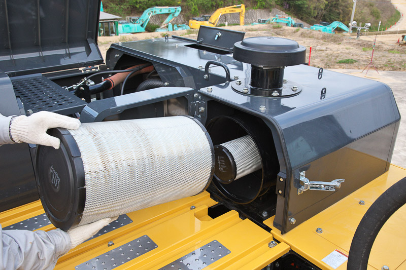 Image of Specialty Excavator SK500LC-10 High and Wide Air Filter for North America model