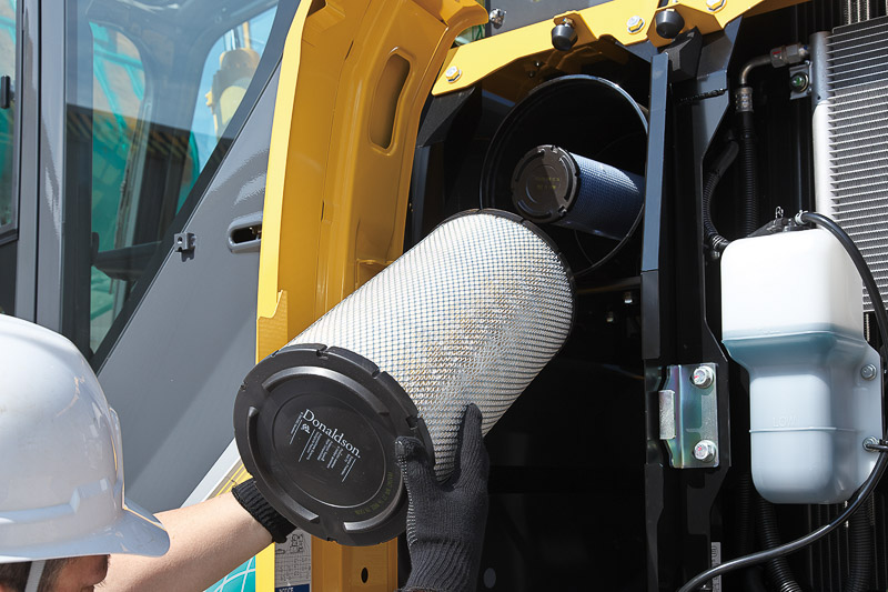 Image of Conventional Excavator SK170LC-10 Air Filter of North America model