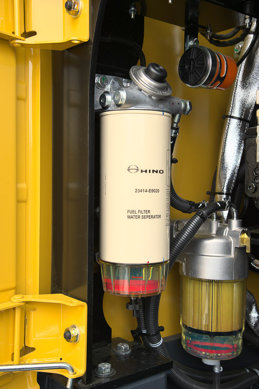 Image of Conventional Excavator SK350LC-10 Fuel Filter of North America model