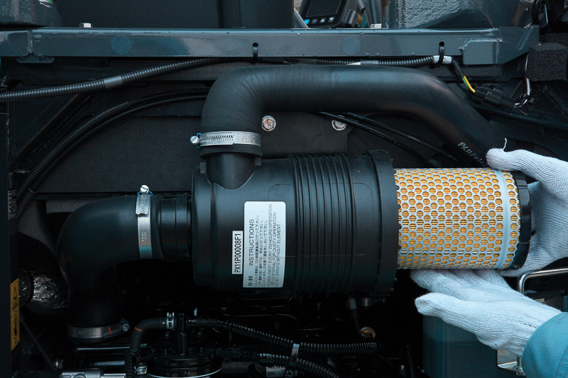 Image of Mini Excavator SK55SRX-6 Air Filter for Latin America model
