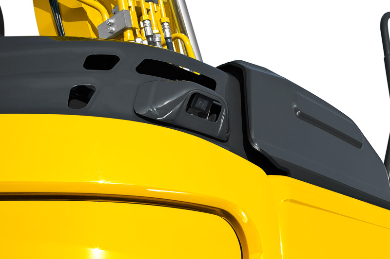 Image of Conventional Excavator SK500LC-10 Rear Camera of North America model