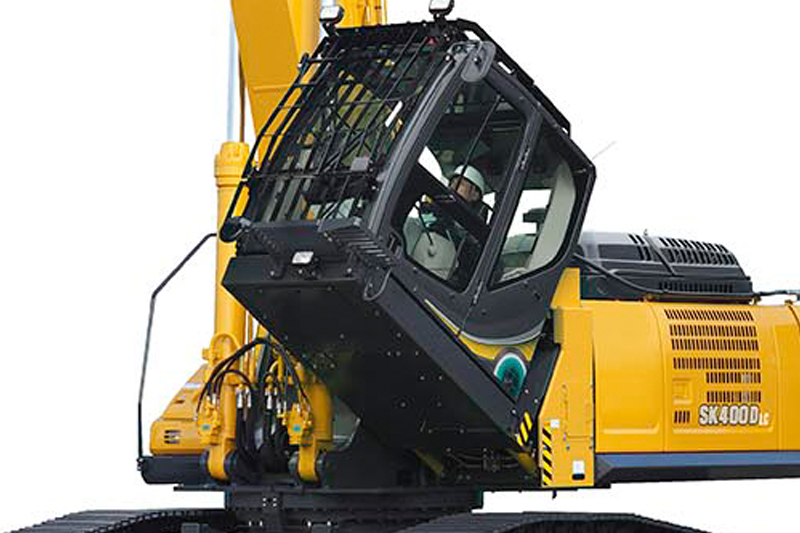 Image of Specialty SK400DLC-10 Building Demo Excavator Cab Tilt for North America model
