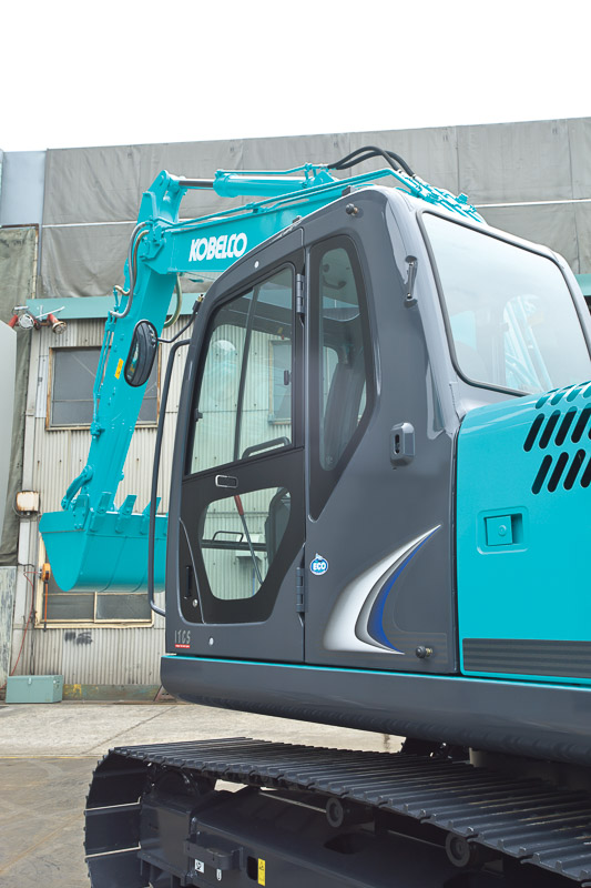 Image of Conventional Excavator SK140LC-8 Machine Exterior for Latin America model