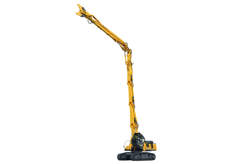 Image of Specialty SK550DLC-10 Building Demo Excavator Full Extension for North America model