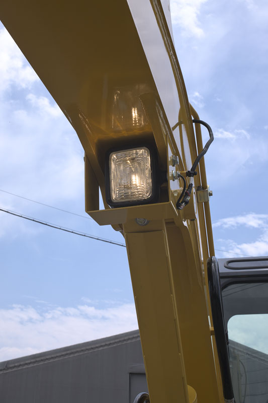 Image of Mini Excavator SK55SRX-6E Working Lights of North America model