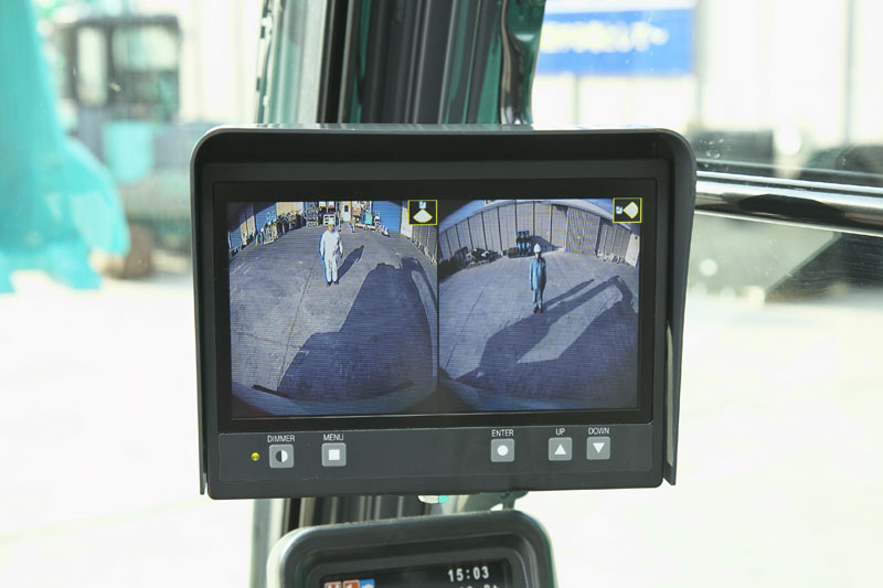 Image of Specialty Excavator SK210HLC-10 Hybrid View Cameras for North America model