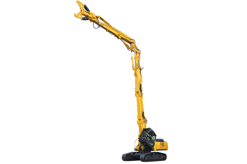 Image of Specialty SK400DLC-10 Building Demo Excavator Full Extension Arm for North America model