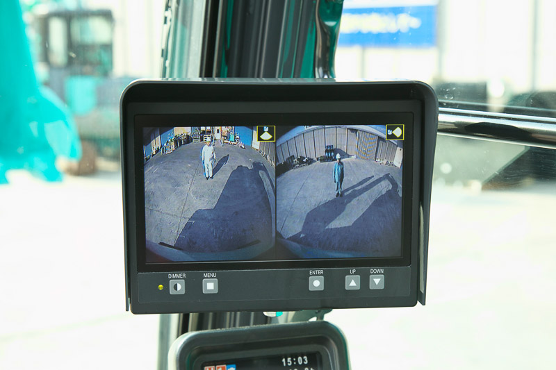 Image of Specialty Excavator SK500LC-10 ME Dual View for North America model